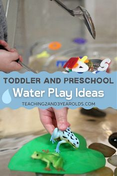 Water table activities are supereasy to set up, and can be a fun part of early learning with toddlers and preschoolers. Here are 23 favorites to try in your home or classroom! #water #table #sensory #finemotor #exploration #toddlers #preschool #teaching2and3yearolds Water Play Activities, Sensory Activities, Preschool Activities, Best Water Table, Sensory Bins, Toddler Preschool, Early Learning, Pre School, Super Easy