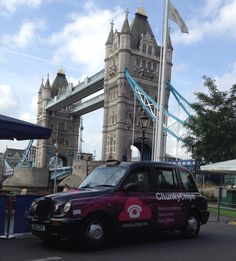 ChunkyChips taxi advertising campaign calls into London
