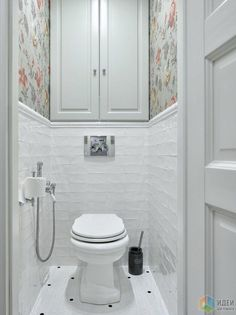 The RV style of (sitting) shower in the toilet space. I would use waterproof tile up to almost the ceiling. The toilet paper is an issue--check the RV sites. Bathroom Vanity Decor, Bathroom Plans, Bathroom Trends, Bathroom Styling, Bathroom Renovations, Bathroom Ideas, Bathroom Organization, Bathroom Storage, Shiplap Bathroom