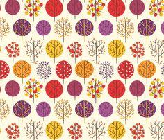Foliage fabric by friedbologna on Spoonflower - custom fabric