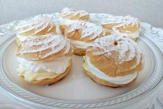 Venčeky - recept Breakfast Recipes, Dessert Recipes, Desserts, Russian Pastries, Famous Drinks, Sour Cream Sauce, Appetizer Plates, Russian Recipes, Seafood Dishes