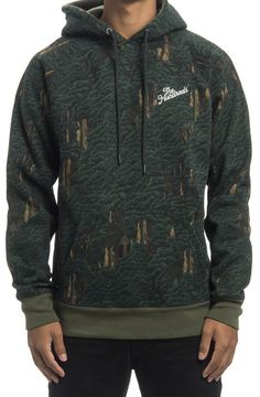 THE HUNDREDS ENVOY PULLOVER HOODED SWEATSHIRT