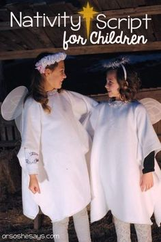 Nativity Play for Children - Family Night and Perfect Christmas Family Tradition Christmas Plays For Kids, Christmas Play Scripts, Christmas Stories For Kids, Christmas Skits, Christmas Pageant, Christmas Program, Childrens Christmas, Christmas Nativity, A Christmas Story