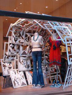 Anthropologie windows 2011 Summer, New York