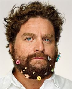 Celebrity Portraits by Martin Schoeller: Zach Galifianakis. Martin Schoeller, Zach Galifianakis, Celebrity Photography, Celebrity Portraits, Celebrity Pictures, Portrait Photography, Fearless Photography, Photography Movies, Famous Portraits