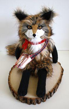 El Zorro Colombiano, fox plush