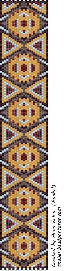 Две схемы - мозаичное плетение - peyote patterns | - Схемы для бисероплетения / Free bead patterns -