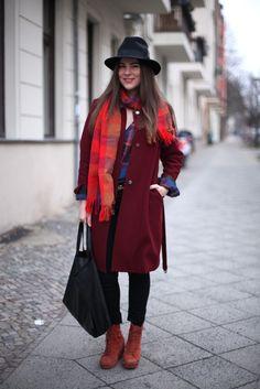 JOURlook: Kariert mit Hut