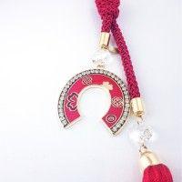Γούρι Πέταλο Κόκκινο ΓΟ10118 Charms, Personalized Items, Pendants