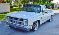 Custom Chevy Trucks, Chevy Pickup Trucks, Classic Chevy Trucks, Chevy Pickups, Jeep Truck, Chevrolet Trucks, 1985 Chevy C10, Lowrider Trucks, C10 Trucks