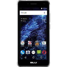 Unlocked BLU - Studio Selfie 2 with 8GB Memory Cell Phone - Gray, S230Q GREY