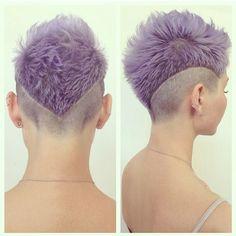 Großartig! Außergewöhnliche Frisuren mit außergewöhnlichen Farben für Frauen mit Pfiff! - Neue Frisur