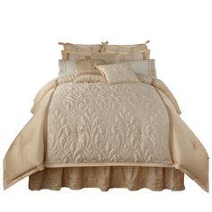 Amazon.com: Veratex Spumante King 4-Piece Comforter Set, Cream: Home & Kitchen