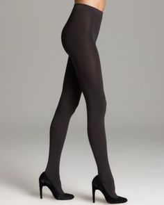 For Day Wolford Tights - Matte Opaque 80 - Women's - Bloomingdale's Nylons, Wolford Tights, Opaque Tights, Black Tights, Best Black, Girls In Leggings, Faux Leather Leggings, Sporty Look, Sexy Stockings