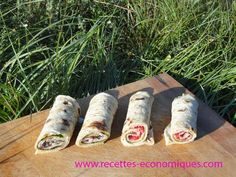 wraps maison Pain Thermomix, Cold Dishes, Cooking Chef, Wrap Sandwiches, Crepes, My Recipes, Tapas, Hamburger, Brunch