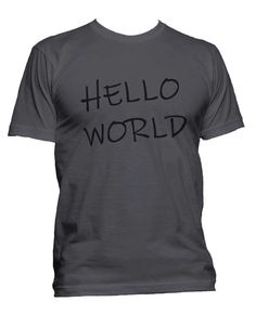 e2fb123beb155 Hello World Doom Patrol Cliff Robotman Men T-shirt   Men Tee. Meh. Geek