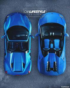 Ferrari 488 Spyder & Lamborghini Huracan Spyder