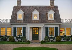 The Cape Cod Cottage- America's Fairytale Home Cape Cod Architecture