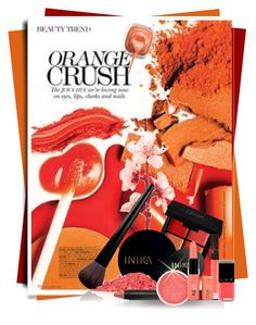 """""""Orange Crush!"""" by sherri-2locos ❤ liked on Polyvore featuring beauty, INC International Concepts, INIKA, NARS Cosmetics and NYX"""