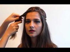 DIY / Tutorial - Três Jeitos de Usar Headband - Starving