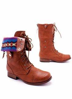 Native American Combat Boots?