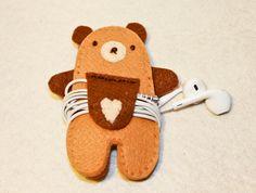 orso porta cuffiette modello