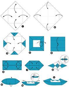 8 Meilleures Images Du Tableau Pliage Bateau Pliage Bateau