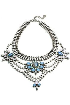Jewelry Game Changer: Dannijo Redefines The Statement Necklace #refinery29