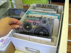 Great way to organize stamps!