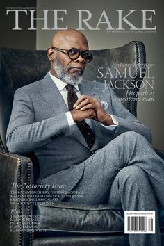 THE magazine for those interested in tailored menswear: The Rake.