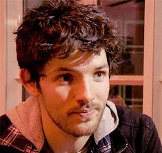 Colin's facial expressions – image from Parked Screening at the Mannheim-Heidelberg International Film Festival (IFFMH) 2011
