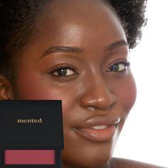 Mented Cosmetics Mented Blush - Berried Away Nude Lipstick, Lipstick Shades, Natural Eye Makeup, Cruelty Free Makeup, Lip Colors, Blush, Cosmetics, Vegan, Powder