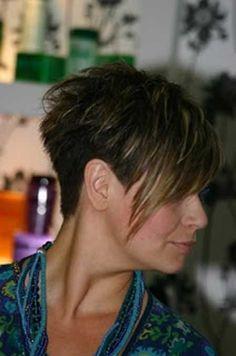 Straight Blonde Asymmetrical Haircut | Fashion Qe