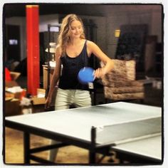 Lina's actually a ping pong pro. Table Tennis Game, Table Tennis Player, Tennis Players, Celebs, Photo And Video, Sports, Life, Beautiful, Women