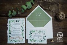 partecipazione nozze eucalipto Invitation Cards, Wedding Invitations, Wax Seals, White Envelopes, Place Card Holders, Etsy, Wedding Invitation Cards, Wedding Stationery, Wedding Invitation