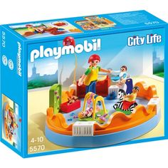 Buy Playmobil 5570 City Life Playgroup at Argos. Thousands of products for same day delivery or fast store collection. Play Mobile, Playmobil City, Toys For Girls, Kids Toys, Children's Toys, Wall Game, Baby Doll Nursery, Kids Up, Disney Stores