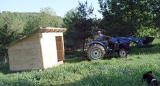 #goatvet likes mobile goat shed as can move them to fresh areas for disease control. This web post gives step by step illustrated instructions on how to built it.