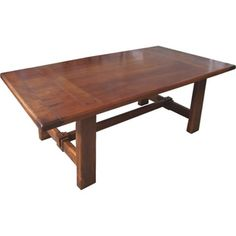@Overstock - The Patagonia table is made in Argentina using black ironwood. The solid table top features tongue and groove construction, exposed wood dowels and butterfly joinery. The strong base is crafted with traditional mortise and tenon joinery.   http://www.overstock.com/Home-Garden/Patagonia-Dining-Table/7886138/product.html?CID=214117 $1,479.99