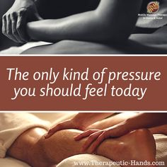 Don't let stress and tension build up in your body. Give yourself the gift of health and relaxation. Set your massage appointment today! #Massage