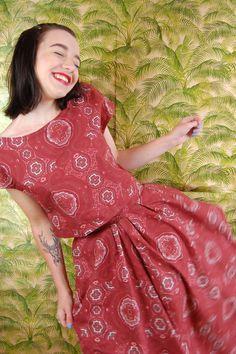 Hobbling Handmade's Sophia Top and Skirt | Simple Sew Blog