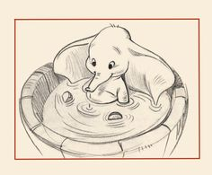 baby dumbo - printing this as my bday drinking tshirt. no joke.