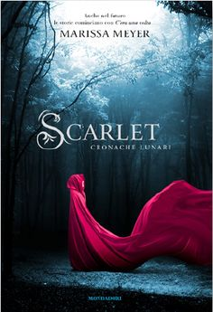 Italian cover of Scarlet by Marissa Meyer