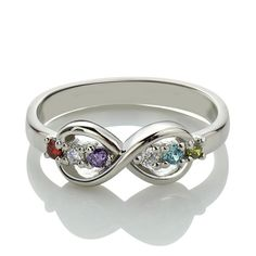 Perfect Infinity Ring for Women, Find More Infinity Jewelry at Getnamenecklace.com