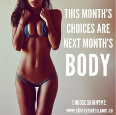 This month's choices are next month's body