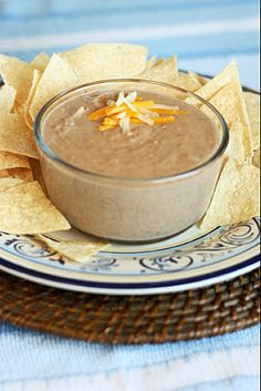 slow cooker refried beans...my kids will love me!!