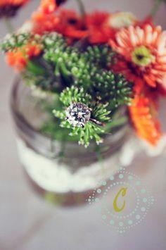Wedding detail shot