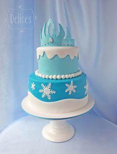 Torta Frozen para cumpleaños!!