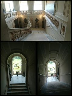 Staircase Kingston Lacy house