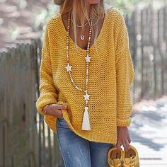 LightInTheBox - Παγκόσμιες Online Αγορές για Φορέματα, Σπίτι & Κήπος, Ηλεκτρονικά Προϊόντα, Ένδυση Γάμου Loose Sweater, Ribbed Sweater, Long Sleeve Sweater, Pullover Sweaters, Sweaters Knitted, Casual Sweaters, Sweaters For Women, Cheap Sweaters, Fall Sweaters