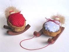 Walnut sleigh Idea